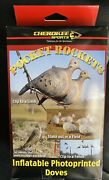 Cherokee Sports Pocket Rockets Inflatable Photoprinted 6 Dove Hunting Decoys