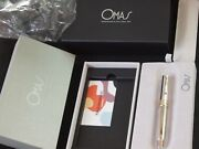 Omas Milord Le Preziose Collection 925 Sterling Silver Roller New Condition