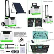 Natureand039s Generator Gold System 1800w Solar Wind Powered Pure Sine Wave Off-grid