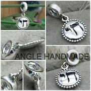 Original 100 S925 Sterling Silver Chai Life Dangle With Enamel Charms Pandeumlndant
