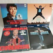 Lot Of 4x Laser Disc Color Of Money, First Born, Jumpin' Jack Flash, Project X