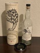 Game Of Thrones House Lannister Lagavulin 9yr Scotch Limited Edition - Empty