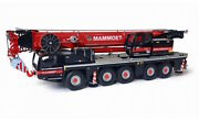 For Demag Ac 250-5 Crane For Mammoet 1/50 Diecast Model Finished Car Truck