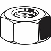 Fabory U22384.112.0001 1-1/8-8 Grade 8m Stainless Steel Hex Nuts, 40 Pk.
