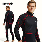Never Men Outdoor Sports Warm Windproof Ski Underwear Motorcycle Riding Suits