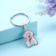 Customized Pet Color Photo Keychain