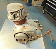 Ducati Bronco 125 Motorcycle Engine-complete-turns Easily-great For Rebuild-c2