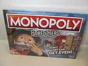 Hasbro Monopoly For Sore Losers Game, 2-6 Players For Ages 8+