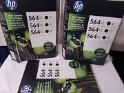 8-pack Hp Genuine 564xl 7black+1yellow Ink Expired. New. Free Shipping