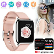 2021 Touch Smart Watch Women Men Bracelet Heart Rate For Iphone Android Ios