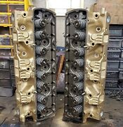 1970 455ci Oldsmobile E Cylinder Head Pair Casting 408686