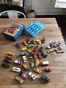 39 Vintage Lesney Matchbox Kenner Fast 111's Superfast Yatming Trans-am Lot