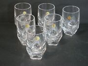 Waterford Crystal Mixology Neon Set Of 6 Shot/whiskey Glasses New And Mint In Box