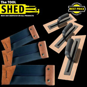 Refina 14 And 16 Rose Gold Superflex 3 Plastering Trowel And Hammerex Wallet