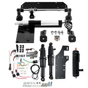 Electric Center Stand Air Ride Suspension Tank Fit For Harley Touring Flht 17-20