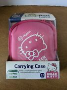 Hello Kitty Leappad Explorer Carrying Case Fits Leappad And Leappad2 Pink