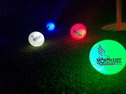 Nighthawk Led Light Up Golf Balls Light Activated Stay Lit Glow In The Dark