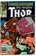 Thor The Mighty 411 - 1st Cameo App New Warriors Modern Age 1989 - 8.5