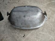 Vintage Guardian Service Ware Turkey Roaster With New Rack Size 17 Inches