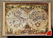5000 Piece Dujardin Puzzle And039ancient World Mapand039 New Vintage Very Rare