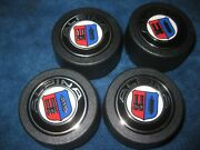 Bmw Alpina Wheel Caps / New Set Of 4 / Fit Bmw 14 And 16 / 2.5 Opening/ E9 E3