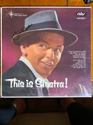Frank Sinatrasigned Lp This Is Sinatra W/coa 8014