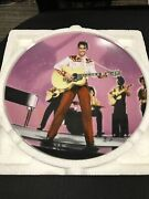 Elvis Presley In Loving You Limited Edition Collector's Plate By Bruce Emmett
