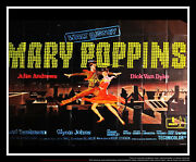 Mary Poppins 8x10 Ft Giant Billboard Original Movie Poster 1964