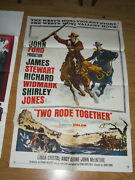 Two Rode Together Original 1sh Movie Poster