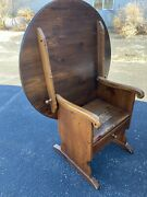 Ethan Allen Country Craftsman Pine Table Chair - Rare