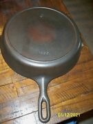 Vintage Griswold 9 Iron Mountain Cast Iron Skillet With Heat Ring 1082