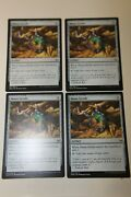 Mtg Mana Geode X4 - War Of The Spark - Lp To Nm