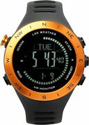 Lad Weather Altimeter Barometer Compass Watch + Heart Rate Monitor Thermomete...