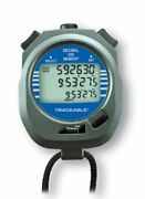 Thomas 1031 Traceable Abs Plastic Decimal Stopwatch With Triple Display 0.000...