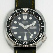 Authentic Seiko Watch 3rd Third Diver 6306-7001 Late 1979's Automatic Winding