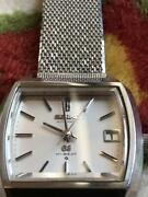 Seiko Grand Seiko Vintage Hi-beat Date Square Automatic Mens Watch Auth Works