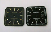 Bulova Thermatron 2 Dial 239mm X 239mm. New Old Stock Swiss Made