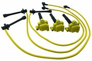 Set Of Ignition Coils And Spark Plug Wire Set Fits 4runner T100 Tacoma Tundra 3.4l