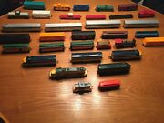 Vintage Ho Trains Train Cars Tracks Controllers Buildings And Accessories