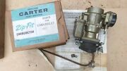 Nos 1953 1956 Chevy Carter Yf Carburetor 2101s Original 235 Climatic Control