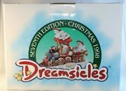 1998 Dreamsicles All Aboard Limited Edition Christmas Figurine Statue Santa