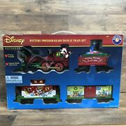 New Lionel Mickey Mouse Express Disney Ready To Play Christmas Train Set