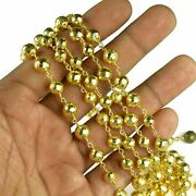 Faceted Roundel Pyrite Gemstone Jewelry Making Design Rosary Bead Dangling Chain