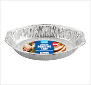 144 Extra Large Deep Oval Disposable Aluminium Foil Roasting Dish Catering Tray