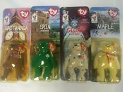Errors 1999 Mcdonalds Ty Beanie Babies Intand039l Bears Collect All 4 Rare