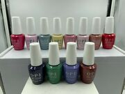Opi Classic Gelcolor 21 Hollywood Spring 2021 - 12 Pcs Full Collection
