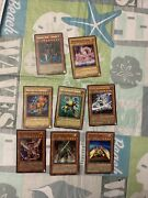 Yugioh Lot Of Series 1 Cards- 8 Cards Total Sold As Is In The Condition In Photo