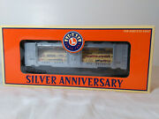 Lionel 6-52289 Silver Anniversary National Toy Train Museum Nttmcc 1977-2000