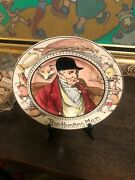 Vintage 1940and039s Royal Doulton Decorative Platethe Hunting Man Made In England