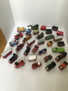 Thomas The Train Learning Curve Gullane Diecast Metal Magnet Lot Of 32 Trains